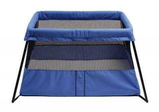BabyBjorn Travel Crib 2 Baby Play Yard/Bassinet (Blue)  040167US