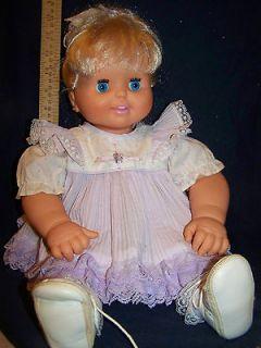 Baby Loves to Talk doll Toy Biz 1992