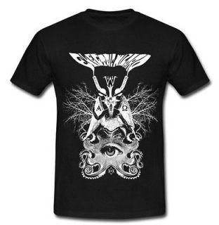 ELECTRIC WIZARD baphomet Tees satanic metal band T Shirt S M L XL