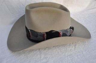 Bailey Regal Cowboy Hat Sheplers 7 3/8 EUC