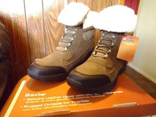 OZARK TRAIL Womens LEATHER FLEECE LINED WINTER BOOTS SUPER FAST