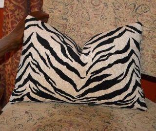 Decorative Throw Pillow Cover   BARROW Soft Chenille   Animal Print