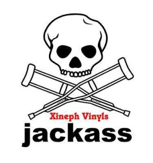 logo vinyl sticker decal bam margera dvd johnny outline tshirt dunn