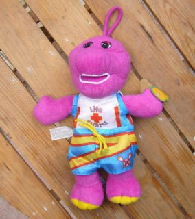 New Barney Lifeguard PLUSH TOY Lovely Gift For Kids 9 Bath Toy