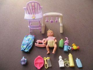 Mattel Barbie baby Krissy doll & accessories