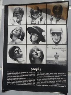1964 Print Ad Barbra Streisand PEOPLE Columbia Records