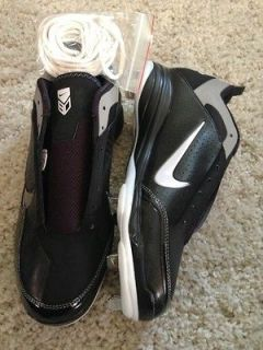 Brand New Mens Nike Baseball Cleats US Size 12 Air Show Elite Black