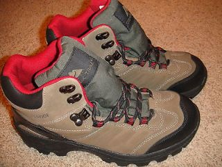 Mens Ozark Trail Waterproof Hiking Boots, size 9 M, Brown Putty II