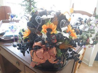 Harley Davidson Custom made basket decor