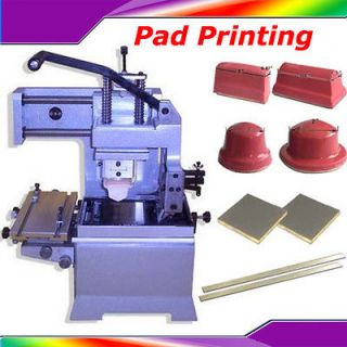 New Inkwell Pad Printing Machine PVC Ink Pad Printer Logo DIY Transfer