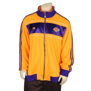 Los Angeles Lakers NBA Basketball Mens Champs Ring Court Warmup Jacket