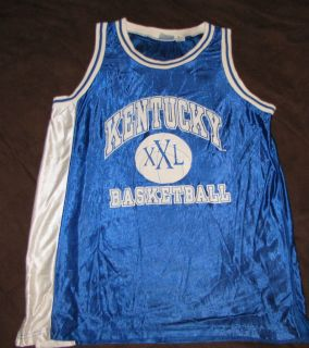 KENTUCKY WILDCATS BASKETBALL JERSEY L BLUE NCAA CHAMPIONS football t