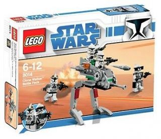 LEGO 8014 Star Wars The Clone Walker Battle Pack New FREE US SHIPPING