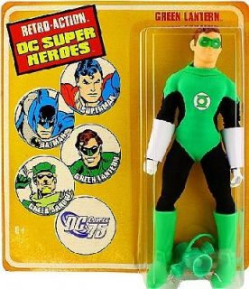 Heroes Retro Action Megos Green Lantern Hal Jordan 8 figure Mattel