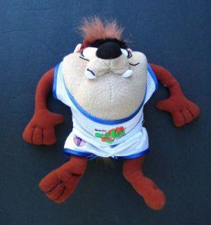 TAZ TASMANIAN DEVIL SPACE JAM Plush Looney Tunes Stuffed Animal