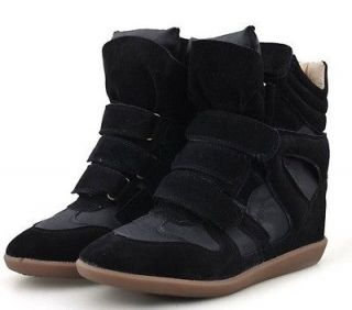 NEW ISABEL MARANT Wedge Sneaker casual shoes boots  EUR35
