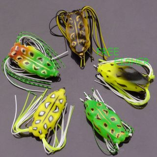 pcs a set Hollow Body Frog fishing soft lure new 4cm Frog 5