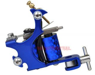 High Gloss Lightning Bolt Blue Liner Gun Tattoo Machine