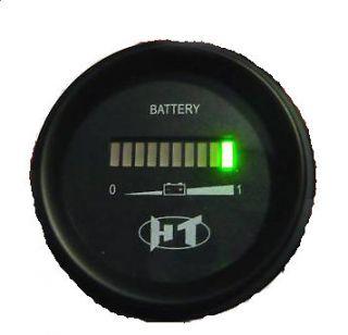 Battery gauge 24v Voltage meter Range indicator for truck/RV/Golf cart