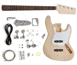DIY Bass Guitar Kit   Standard Jazz Bass