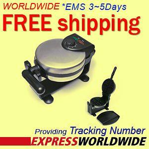 New LEQUIP LW425 Belgian Waffle Maker Easy Flip + Worldwide Free