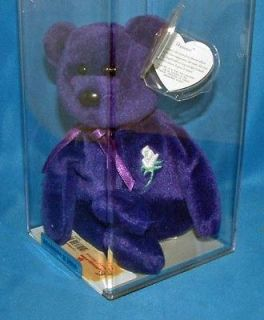 PRINCESS Diana   Authenticated Rare 1st edition PVC, Ty Beanie Baby
