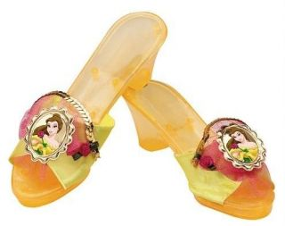 BELLE Beauty and Beast Disney Princess Deluxe Child Costume Shoes