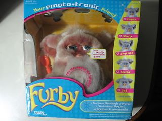 Furby doll, by Tiger Electronics, Brand New Sealed, needs batt