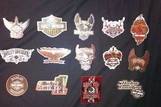 NO RESERVE   14 Harley Davidson stickers   oilfield stickers, oil and