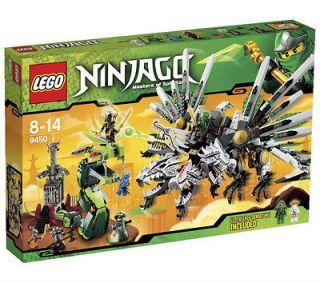 LEGO Ninjago Epic Dragon Battle (9450) NIB   HTF