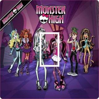 LS051 MONSTER HIGH BEDROOM LIGHT SWITCH COVER / STICKER