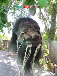 Shrunken Head Real Skin Hair Hot Rod Voodoo Rat Rod