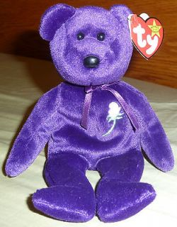 Princess Diana Beanie Baby Bear 2nd Edition 1997 PE China