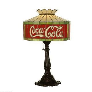 Meyda Tiffany 24.5 H Coca Cola Table Lamp 74067
