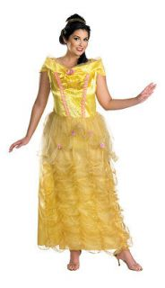 BEAUTY AND BEAST BELLE DELUXE WOMENS ADULT PLUS COSTUME Disney
