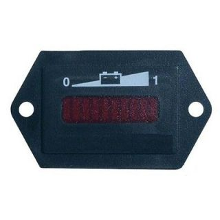 48V Golf Cart Battery Charge Meter w LED Display, EZGO