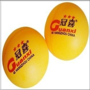 Orange 40mm 3 Stars ping pong Balls Table Tennis Balls Good Balls