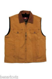 Kakadu Kelly Vest concealed carry   canvas   golden brown mens womens