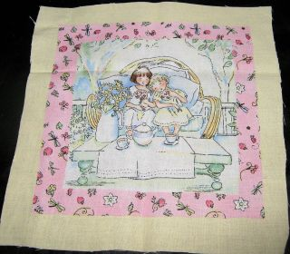 1o Becky Kelly/Timeless Treasures labels quilt square fabric panel 7 1