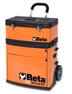 Beta Tools C41S Two Module Tool Box Chest Trolley as seen in MotoGP