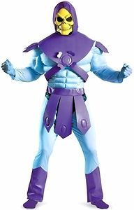 Masters of the Universe Deluxe Costume #31713 Skeletor (XLarge 42 46)