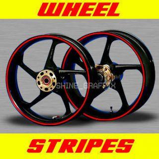 for 17 Wheels rim stipe decal tape SUZUKI M109R BIKE GSX R 1000