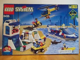 Lego 6435 City Town Coast Guard HQ w/Box & Instructions