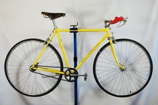 1973 Schwinn Super Sport 22 road bike single speed conversion yellow