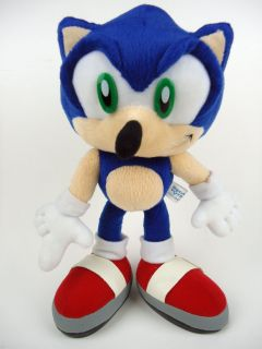 Sonic the Hedgehog Poseable Bendable Plush Toy Figure Rare Japan 2003