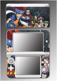 Beyblade Metal Fury Master Fusion Anime Game Skin Cover 6 for Nintendo