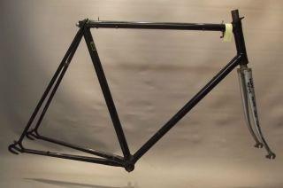 VINTAGE CARLTON STEEL BICYCLE FRAME, CAPELLA LUGS   58cm