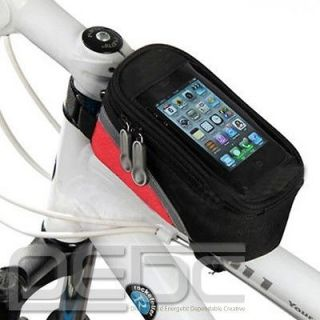 Newly listed New Bicycle Cycling Bike Frame Pannier Front Tube Blue