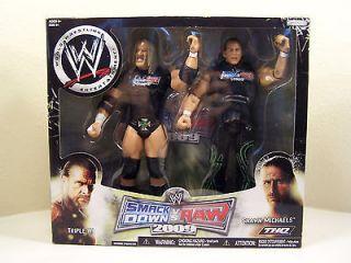 WWE DX Shawn Michaels Triple H D Generation X Jakks *Smackdown vs