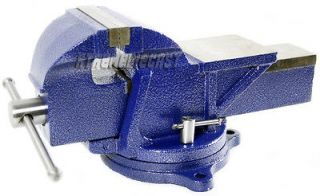 Bench Vise Clamp TableTop Press Vise Metal Milling Tools Swivel